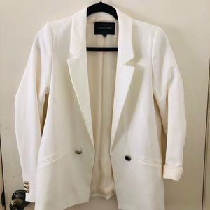 Dressy white blazer